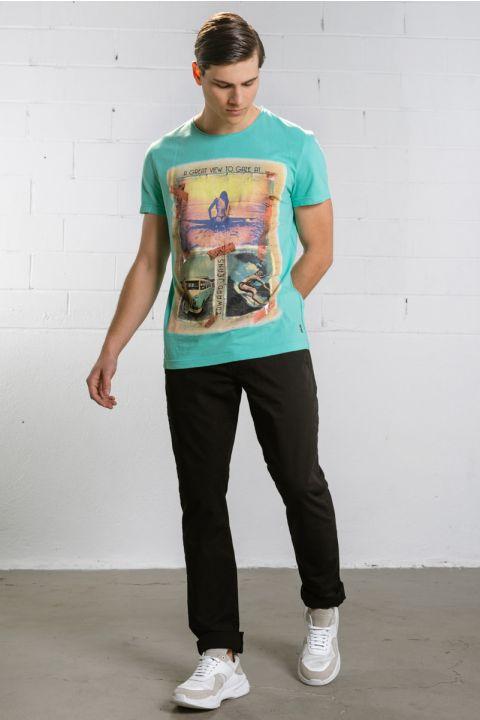 Gaze T-Shirt, PEANUT