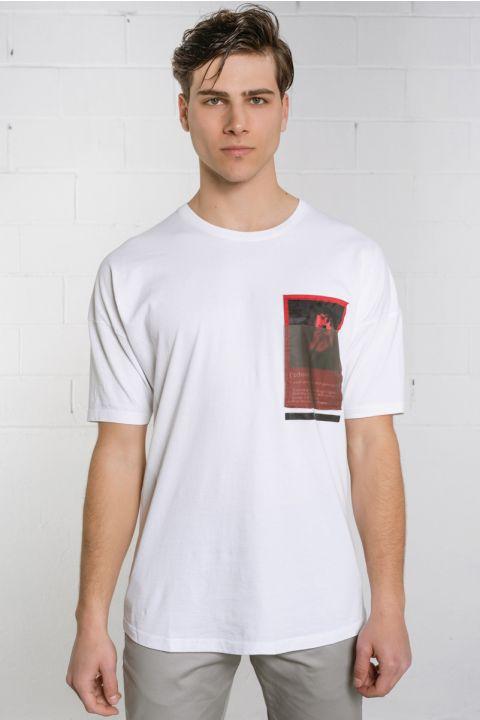 Daemon-W20 TShirt, WHITE