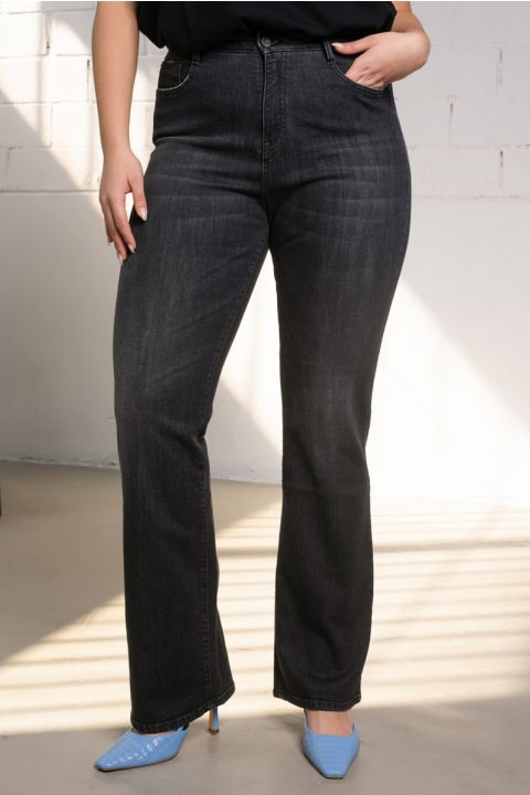 HILDA-NCR JEANS, DARK GREY DENIM