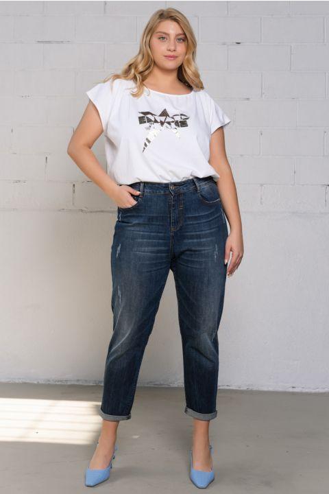 Danna-Ps19 Jeans, BLUE