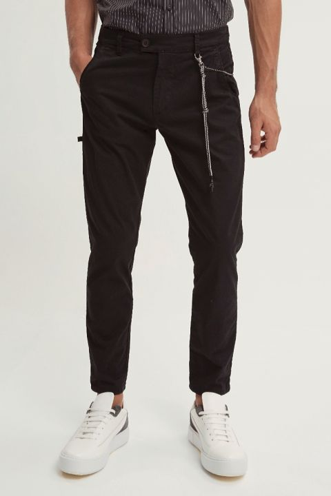 GINSENG-W20 PANTS, BLACK