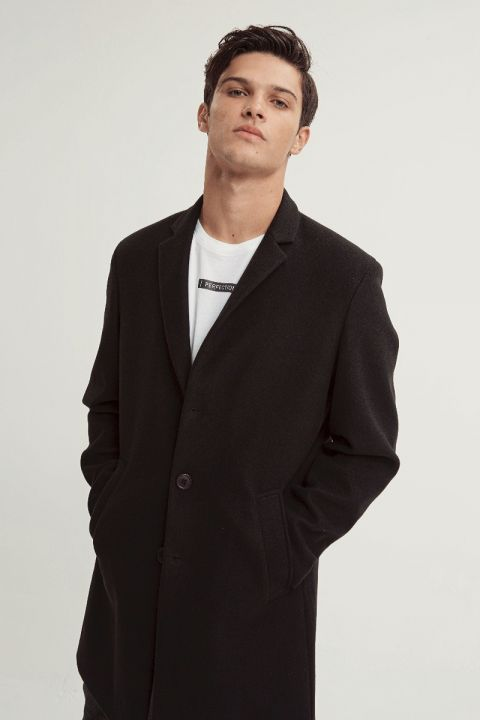 APUS-361 COAT, BLACK