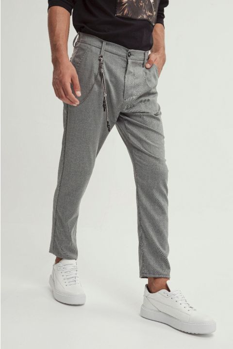 FREESIA-LUCA PANTS, LIGHT GRAY