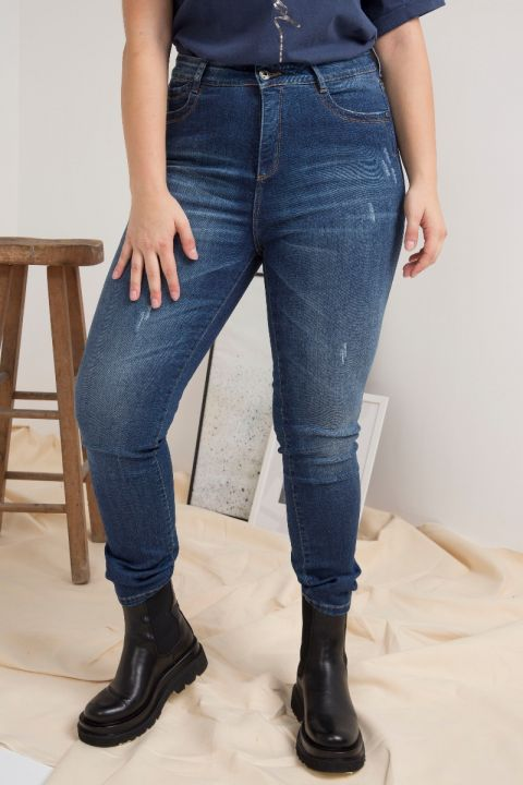 BIANA-PS19 JEANS, BLUE