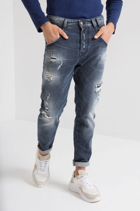 DESTIN-72 JEANS, DARK BLUE DENIM