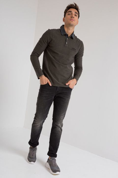 MARCIN-920 JEANS, DARK GREY DENIM