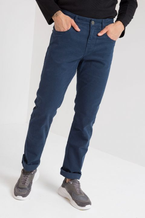 DU.MARTIN-C PANTS, NAVY BLUE