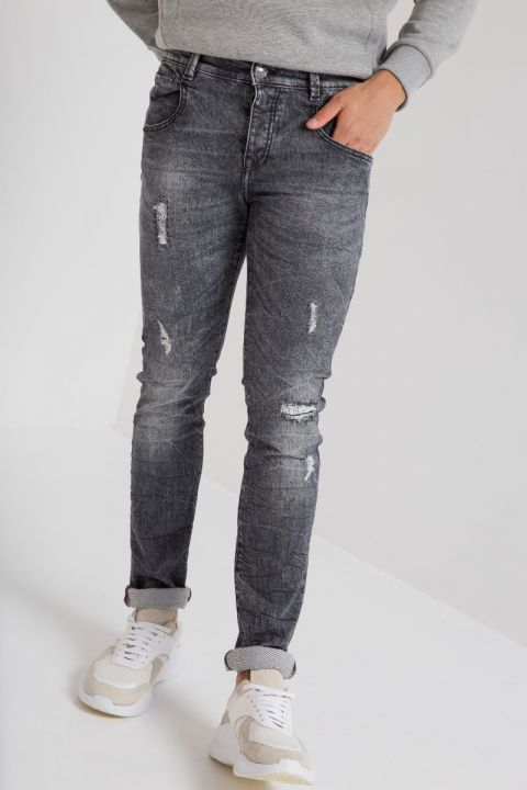 BRICEN-DS116 JEANS, BLUE