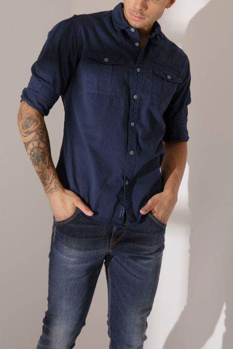 TORNADO SHIRT, BLUE