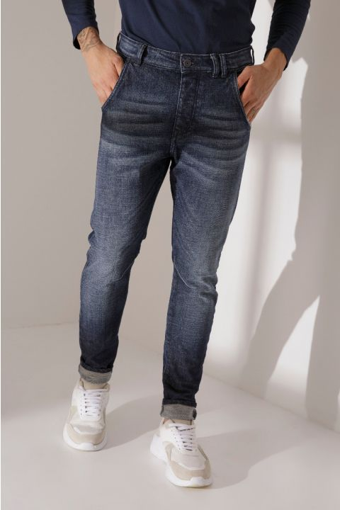 HARLOW-311, MEDIUM BLUE DENIM