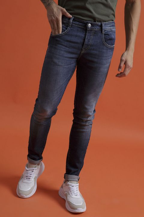 CONWAY-29 JEANS, DARK BLUE DENIM