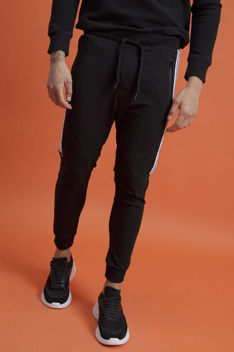 KELSON-F SWEATPANTS, BLACK