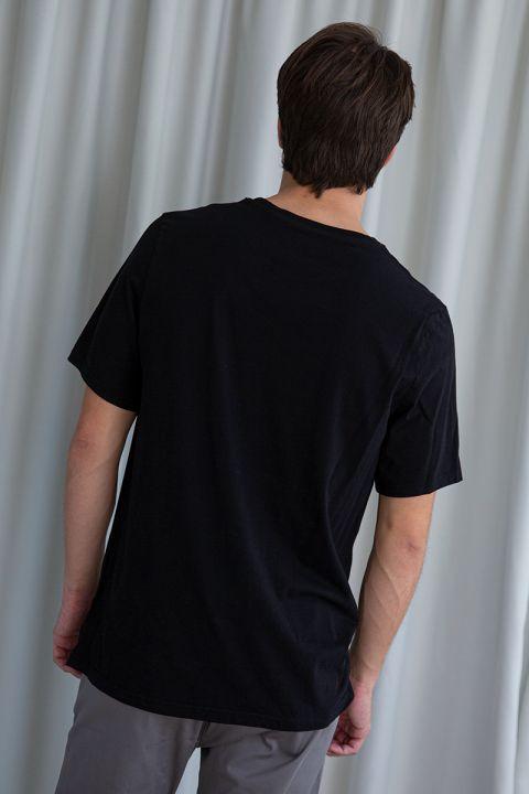 NIUS TSHIRT, BLACK