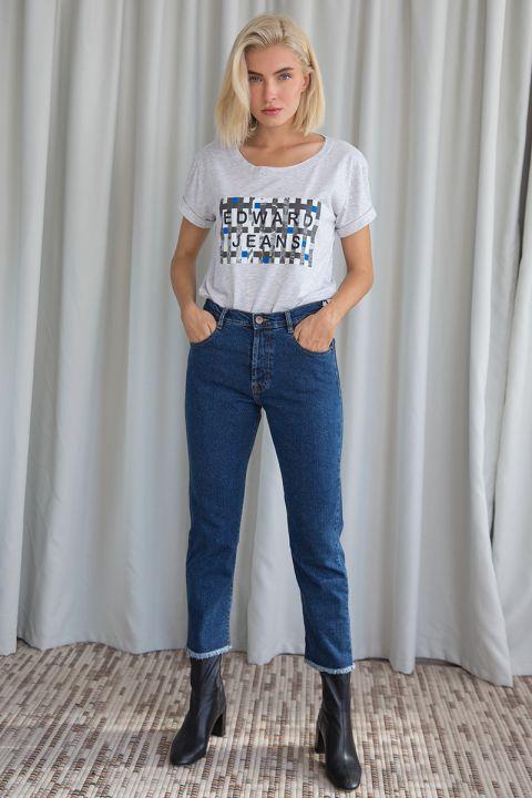 Briley-Or Jeans, MEDIUM BLUE DENIM