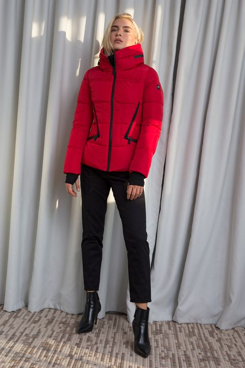 2033 JACKET, RED
