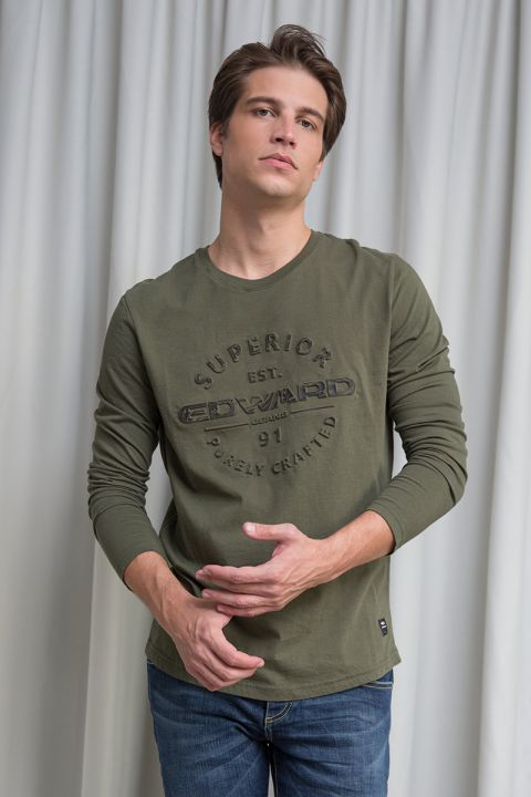HYPES T-SHIRT, ARMY
