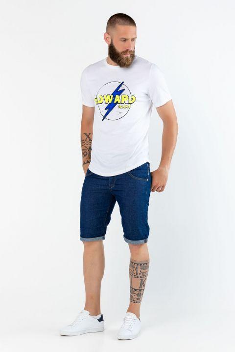 Flamy TShirt, WHITE