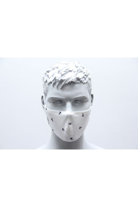 FORMED PROTECTION MASK, WHITE