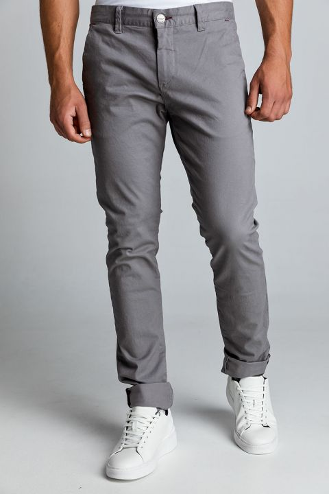 NASIR-W20 CHINOS, LIGHT GRAY