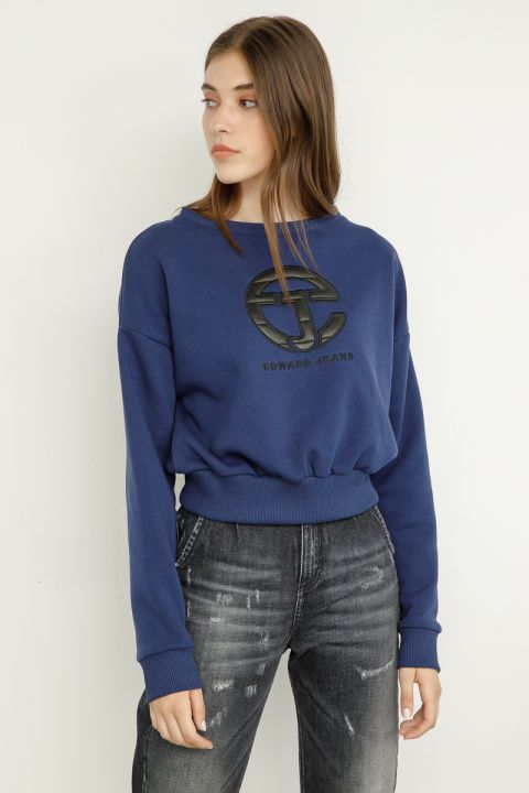 REAGAN SWEATSHIRT, BLUE