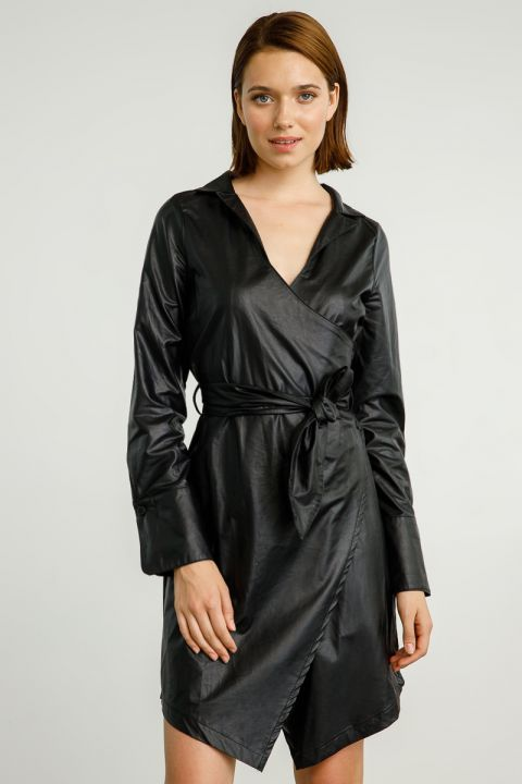 NALINI DRESS, BLACK