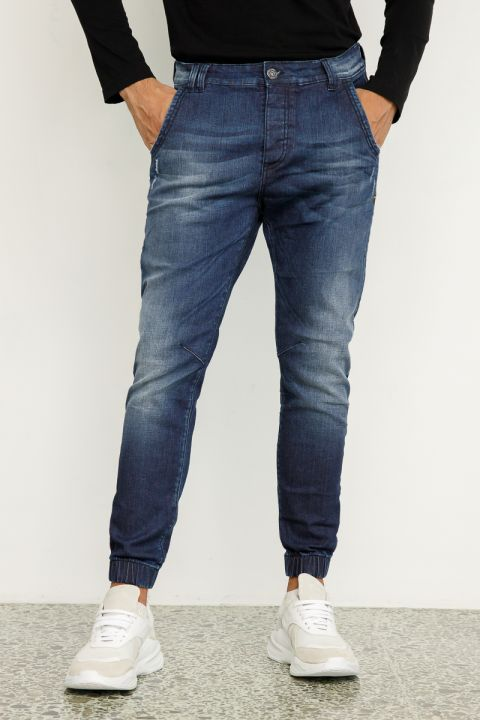 HARMON-40 JEANS, MEDIUM BLUE DENIM