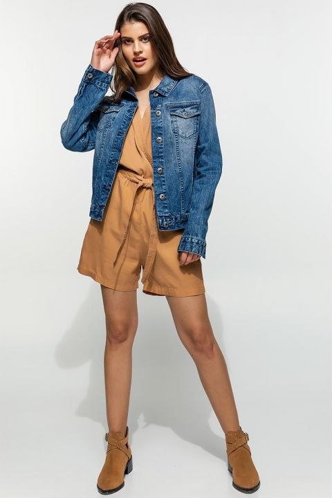 MEREL-RB DENIM JACKET, BLUE