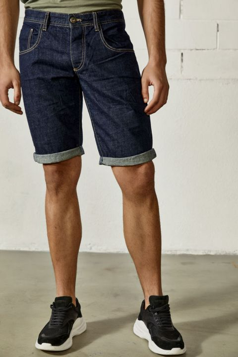 DU.MATIAS-S21/R DENIM SHORTS, RINSE
