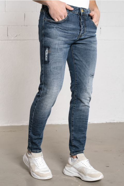 BRICEN-S21 JEANS, LIGHT BLUE DENIM
