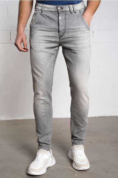 HARLOW-EG JEANS, LIGHT GRAY DENIM