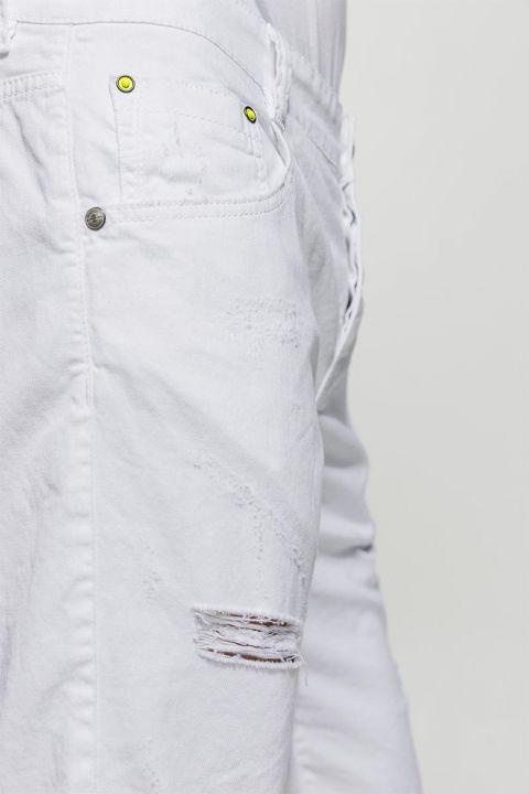 KELLEN-RAM SHORTS, WHITE