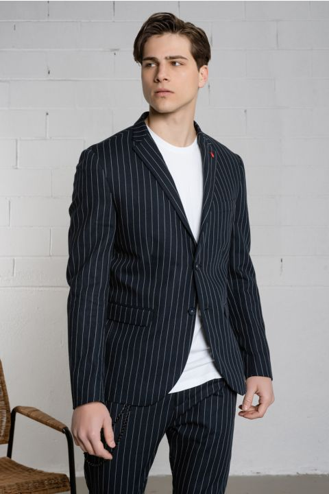 STRIKE-157 MENS BLAZER, BLUE