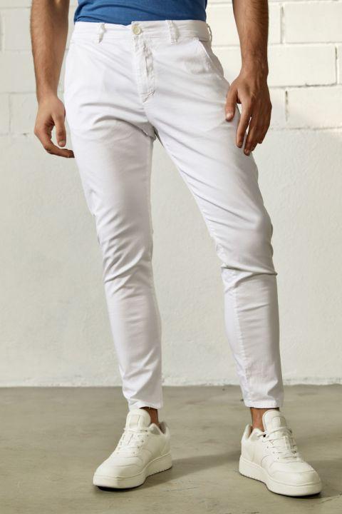 LORIAN-S20 PANTS, WHITE