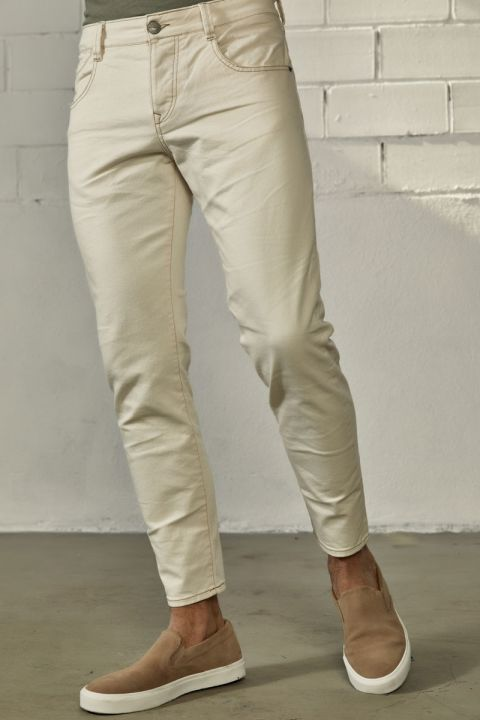 TERRELL-RF PANTS, OFF WHITE