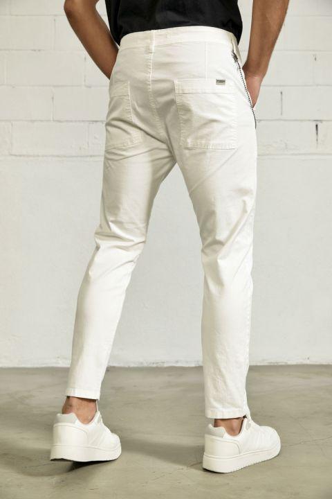 RANDEL-SAN PANTS, WHITE