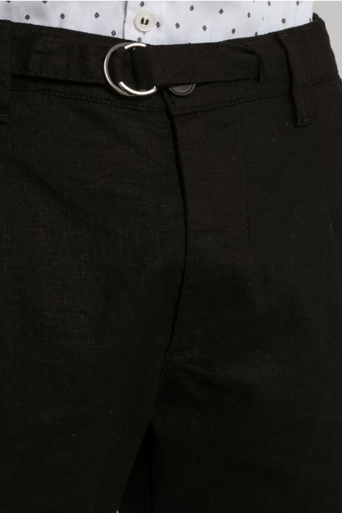 BLOSSOM-Q PANTS, BLACK