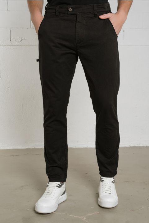 GINSENG-W20 PANTS, BLACK