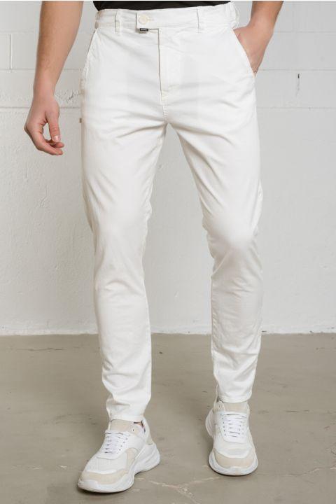 GINSENG-W20 PANTS, WHITE