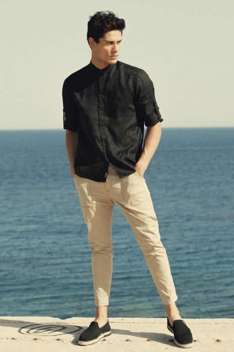 Endri-Li Shirt, BLACK