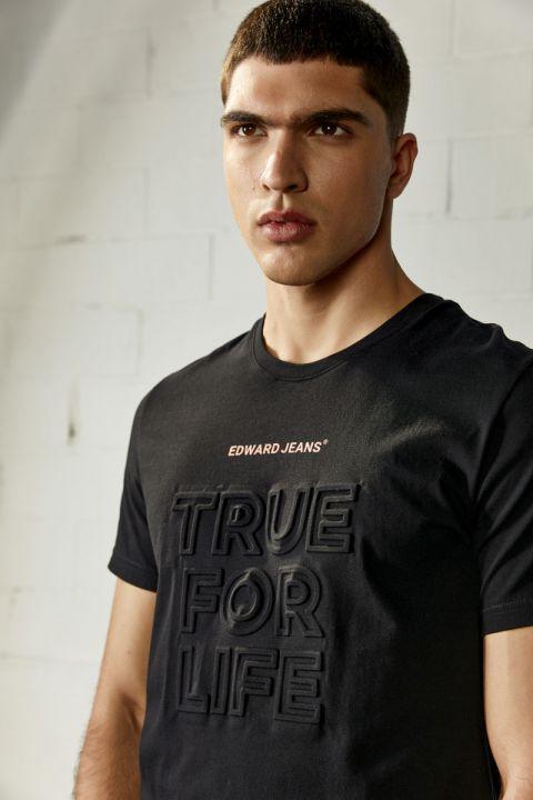 TRUFO TSHIRT, BLACK