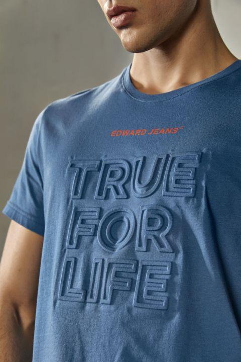 TRUFO TSHIRT, BLUE