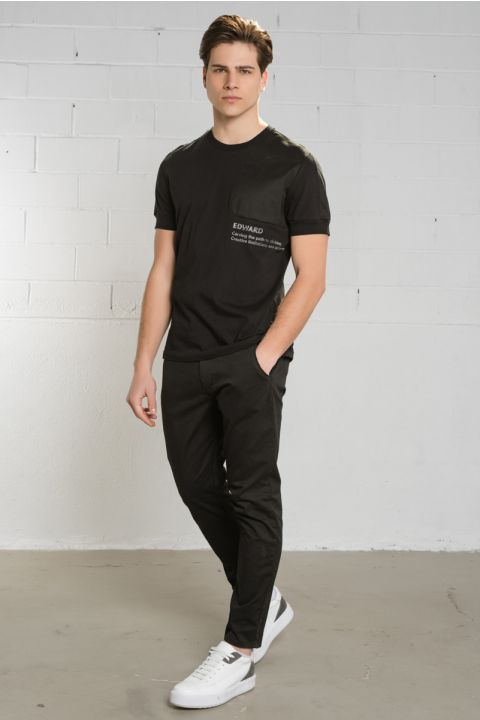CHRISTIANO TSHIRT, BLACK