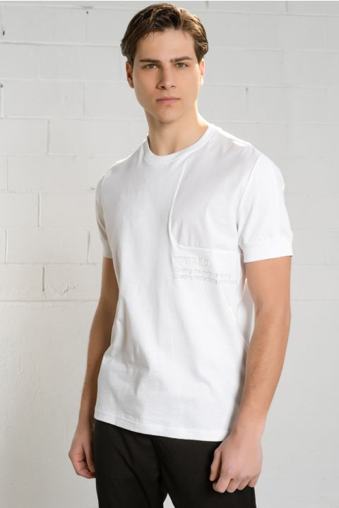 CHRISTIANO TSHIRT, WHITE