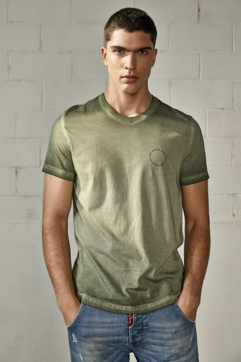MERLIN TSHIRT, ARMY