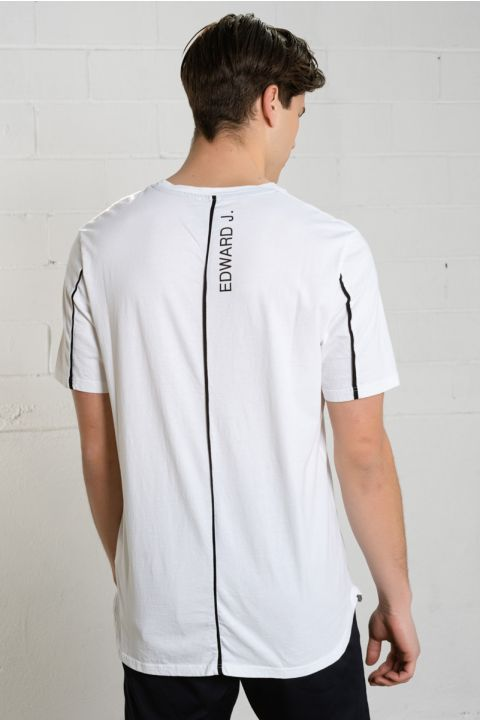 Path-W20 T-Shirt, WHITE