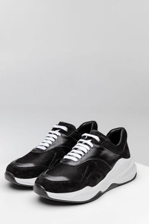 CN1-W20 SNEAKERS, BLACK