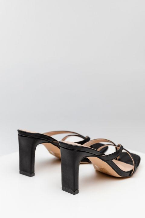 Vb-23122 High Heel Sandals, BLACK