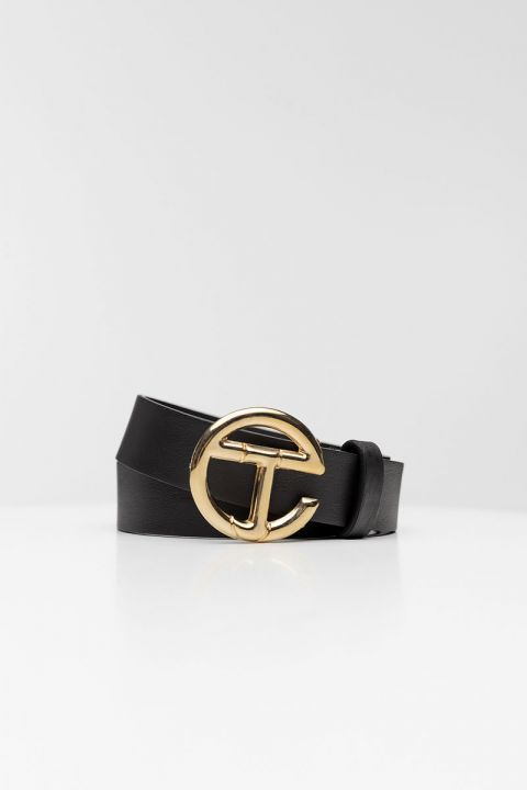EW002 GOLD BELT, BLACK