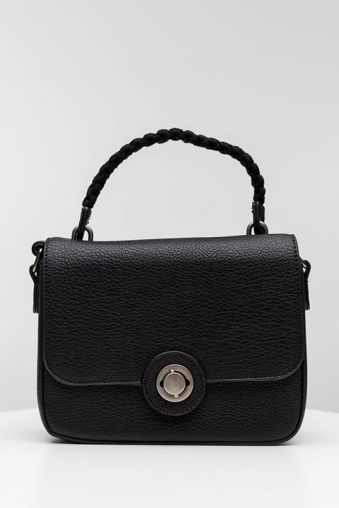 PF-1594 SHOULDER BAG, BLACK