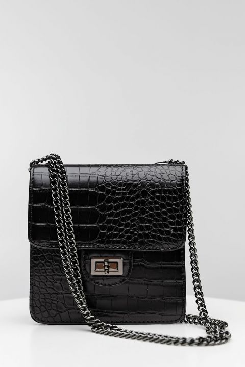 PH-1474   SHOULDER BAG, BLACK